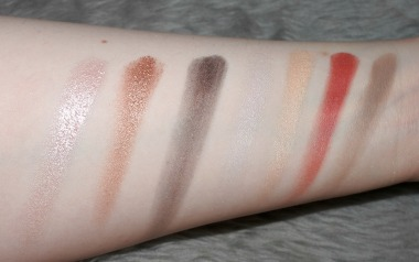 Love the Revolution palette swatched!